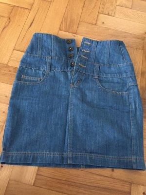Süßer Jeans-Mini mit hoher Knopfleiste, Größe 36, Vero Moda