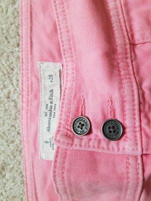 Anderne Miniskirt salmon cotton