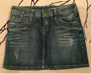 Süßer Jeans Minirock in Gr. 38