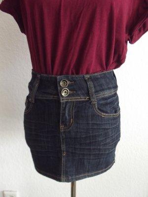Süßer Jeans Minirock in Gr. M