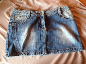 Süßer Jeans Rock Used-Style