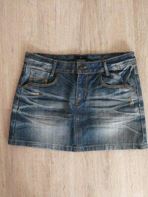 Gonna di jeans blu