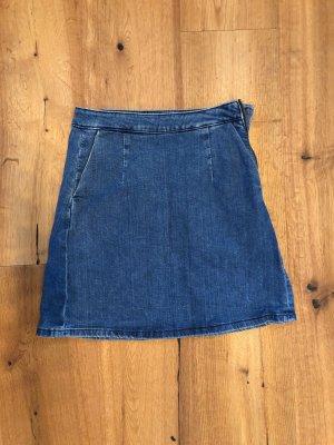 Asos Jupe en jeans bleu