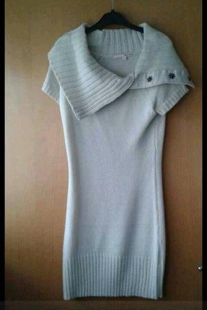 Abito maglione bianco