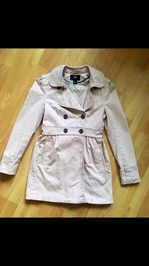 Süßer Mantel puderrosa