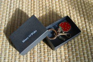 Süßer MARC O`POLO Schlüsselanhänger - Erdbeere