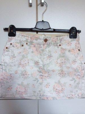 Süßer Minirock mit Blumenprint Größe 36