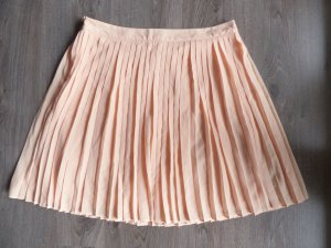 Esprit Pleated Skirt nude-apricot polyester