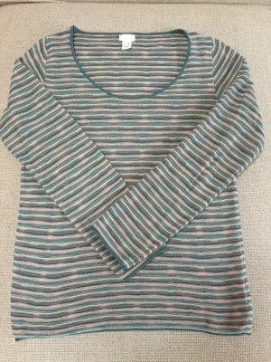 Hess Natur Jersey de cuello redondo multicolor
