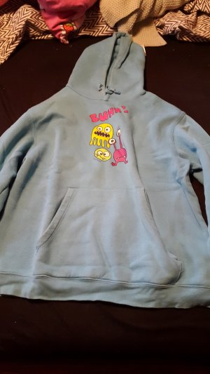 B&C collection Crewneck Sweater light blue