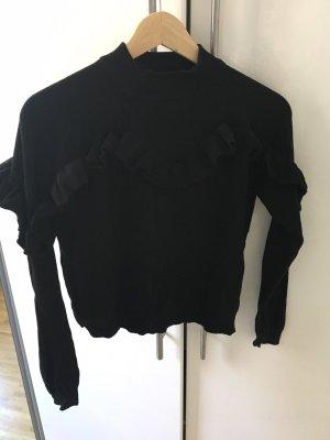Süßer Pullover mit Volant