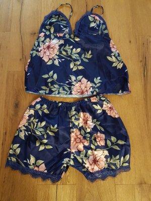 Pyjama rose-bleu