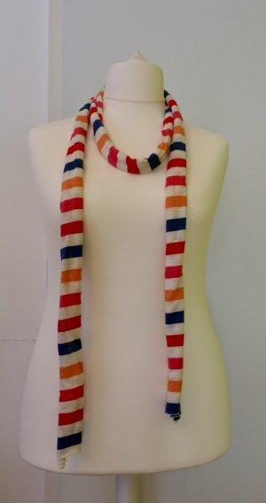 Süßer Ringel-Schal/ Tuch in beige, blau, Pink, rot, orange