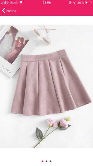 SheIn Jupe à plis rose clair