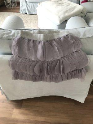 Falda de tul púrpura-malva