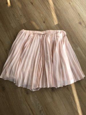 Mint&berry Plaid Skirt apricot