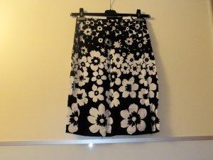 Falda cruzada negro-blanco