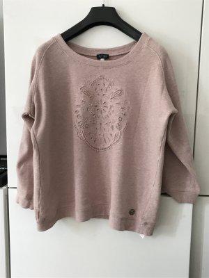 Süßer rosa Pullover Sweatshirt von Armani Jeans aus weicher Baumwolle 36/38