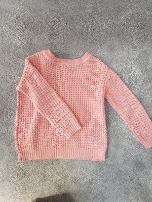 Süßer rosa Strickpullover von Vila