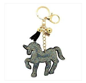 Sweet Deluxe Porte-clés noir-argenté