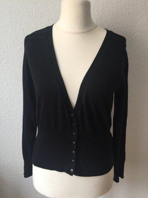 Süßer schwarzer Cardigan Größe 42