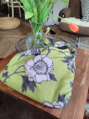 Süßer Shopper * Flowerprint * grasgrün * Einzelstück