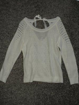Primark Camisa tejida blanco
