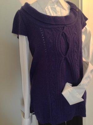 Springfield Jersey de manga corta púrpura-violeta amarronado