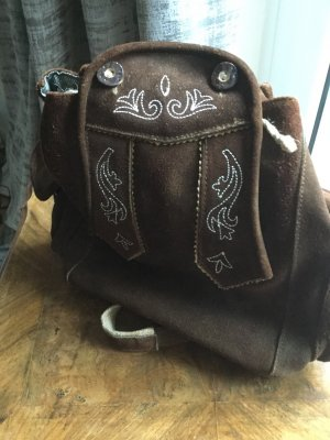 Traditional Bag brown-cream