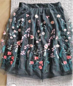 H&M Tulle Skirt black synthetic fibre