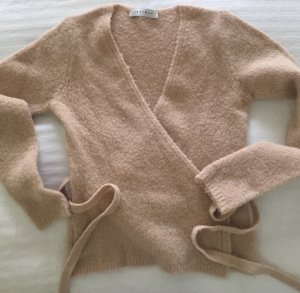 V-Neck Sweater nude mixture fibre