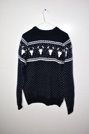 Süßer Winter / Weihnachts Pullover mit Rentieren