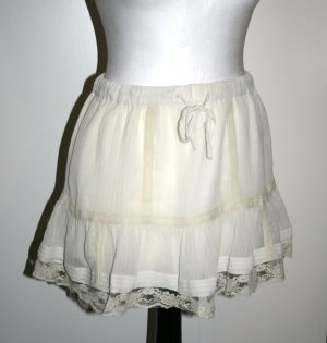 H&M Lace Skirt cream