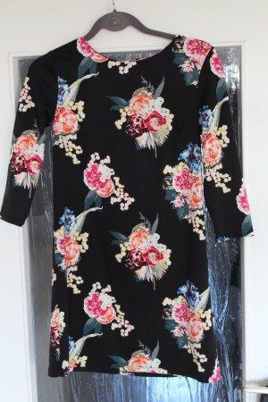 Süßes 3/4-Armkleid mit Blumenmuster