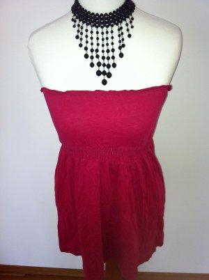 süßes Babydolltop in pink-rot