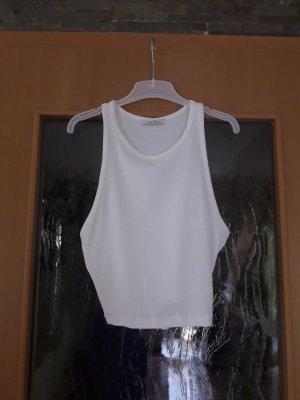 Zara Crop-top blanc