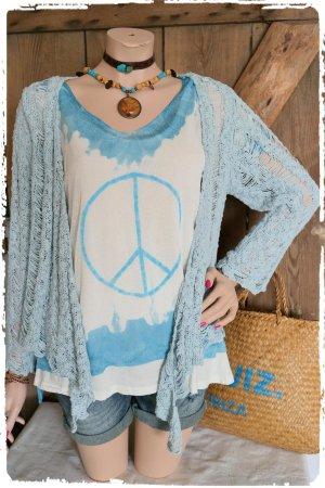 Süsses Batik Peace Feinstrick Shirt