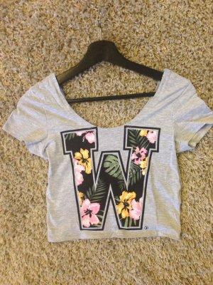 Süßes bauchfreies T-Shirt