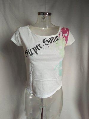 süßes bauchfreies Tshirt mit Design
