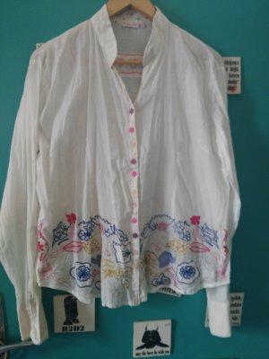 Camicia blusa multicolore