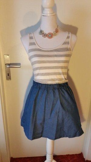 Süßes blau/graues Sommerkleid
