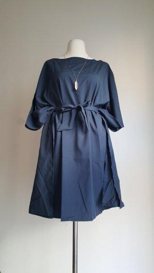Kaftan donkerblauw Polyester