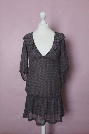 Süßes blaues Kleid mit rotem Muster von Pull & Bear xdye NEU
