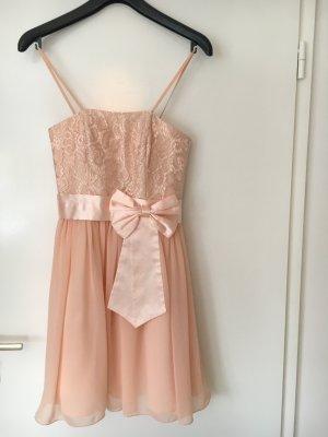 Süßes Cocktailkleid in rosé