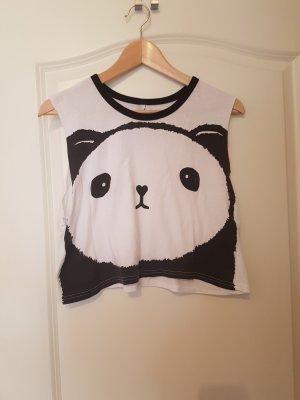 süßes Cropped shirt Panda