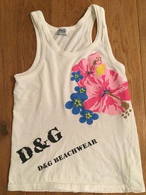 Süßes D&G Top mit Blumenmotiv