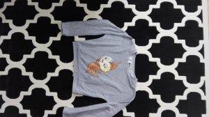 Disney Suéter color plata-naranja oscuro