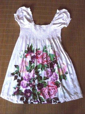 Süßes Empire Mini Sommer Kleid mit Blumenmuster aus der H&M Garden Collection