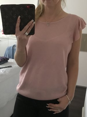 Süßes Esprit Collection Top Shirt Rose mit Rüschen