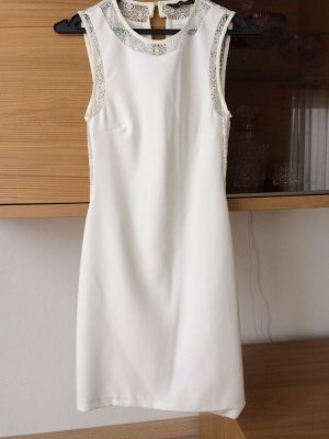 Zara Robe fourreau blanc